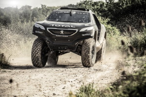 Peugeot 2008 DKR First Test