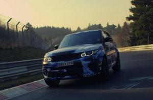 Range Rover Sport SVR разцепи Нюрбургринг (видео)