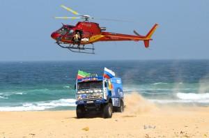 Kamaz Master с два камиона в Africa Eco Race 2015