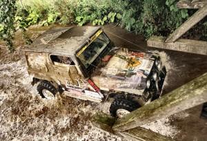 Тежък и кален етап 4 на Balkan Breslau Rallye 2014
