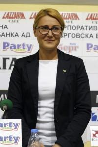 Екатерина Стратиева е спортист на месец септември