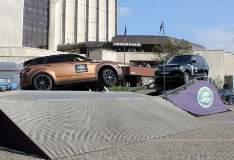 Land Rover Experience 2014: оф-роуд в центъра на София