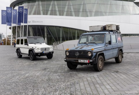 """Рекорд в """"Гинес"""" за 35-ия юбилей на Mercedes G-Class"""