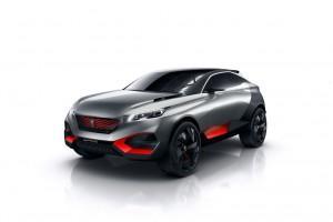 Концептуалният кросоувър Peugeot Quartz блесва в Париж
