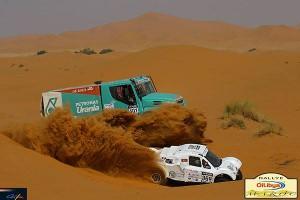 Ал Атия и Кома начело след етап 2 на рали Мароко 2014 (видео)