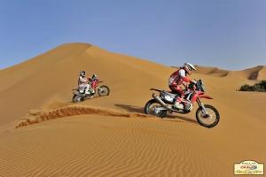 Бареда и Теранова с победи в етап 3 на рали Мароко 2014