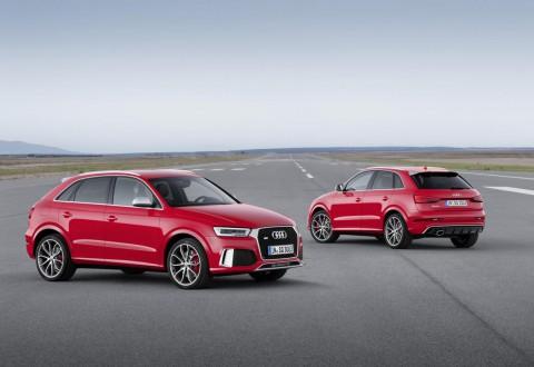 Обновените Audi Q3 и RS Q3 (галерия и видео)