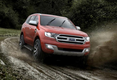 Новият Ford Everest на базата на Ranger (галерия и видео)