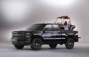 Яки концепции на тема Chevrolet Silverado за SEMA 2014