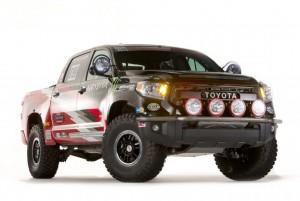 Toyota Tundra TRD Pro Desert Race Truck на SEMA (видео)