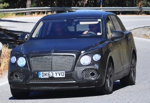 Bentley SUV става Bentley Bentayga?