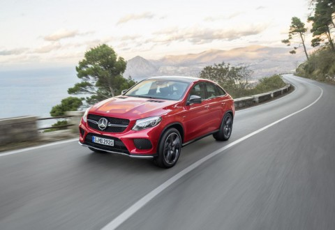 Новият Mercedes GLE Coupe официално