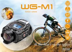 Новата HD екшън камера Ricoh WG-M1 (Pentax WG-M1)