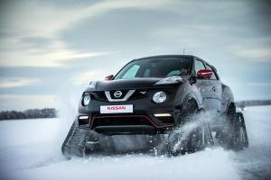 Снегоходът Nissan Juke Nismo RSnow с 218 к.с.