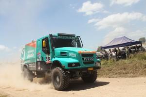 Стейси и Iveco поведоха при камионите в рали Дакар 2015