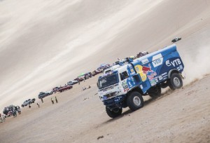 Дакар 2015: обзор етап 8 (автомобили) и 7 (мотори) – видео