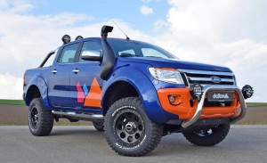 Мутантът Ford Ranger Magic Orange от delta4x4