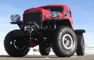 Един брутално модернизиран Dodge Power Wagon