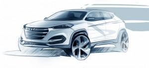 Новият Hyundai ix35 / Tucson ще дебютира в Женева