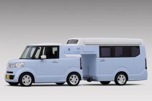 Honda N-Truck и N-Camp: готина къмпинг микро композиция