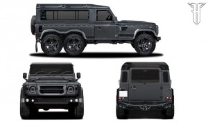 Зла триоска: Flying Huntsman 110 WB 6×6 от Kahn Design