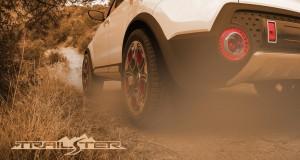 Kia Trail'ster: кросоувър с електрическо 4×4