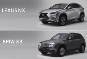 Дали Lexus NX е по-добър от BMW X3?