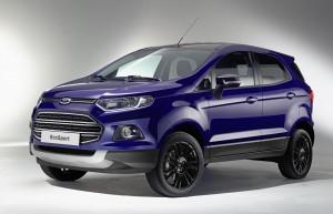 """Ford EcoSport """"изгуби"""" гумата на задния капак"""