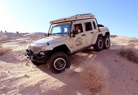 Екзотичният пикап Jeep Wrangler 6×6