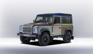 """Дизайнерски"" Land Rover Defender by Paul Smith"