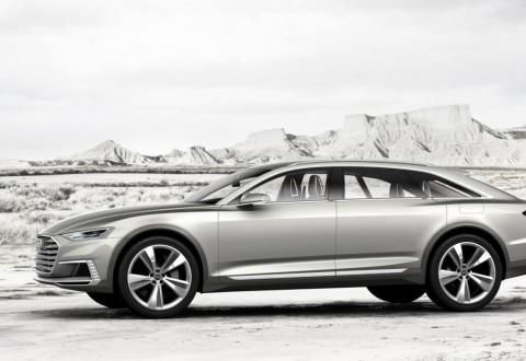 Audi Prologue Allroad: шармантно оф-роуд купе