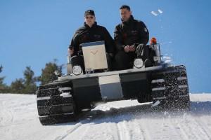 Venturi Antarctica: електрически ратрак за арктическия студ