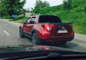 Хванаха Dacia Duster Double Cab пикап