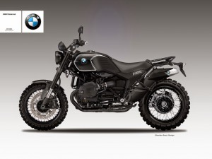 BMW R1200 Black Sabbath. Шапки долу!