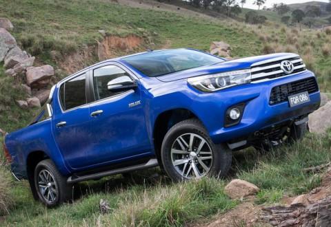 Ето го осмото поколение Toyota Hilux (галерия)