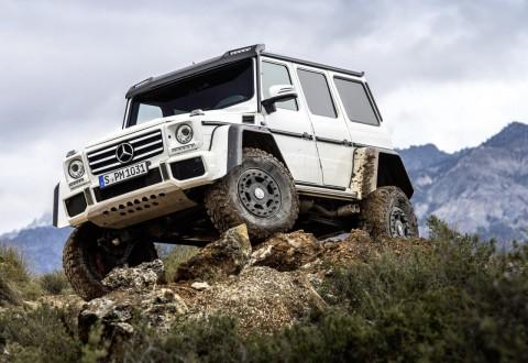 Mercedes G500 4×4² ще струва над 200 000 евро