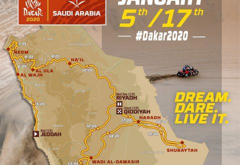 Ясен е детайлният маршрут на рали Дакар 2020