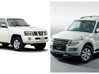 Nissan Patrol и Mitsubishi Pajero с обща платформа?