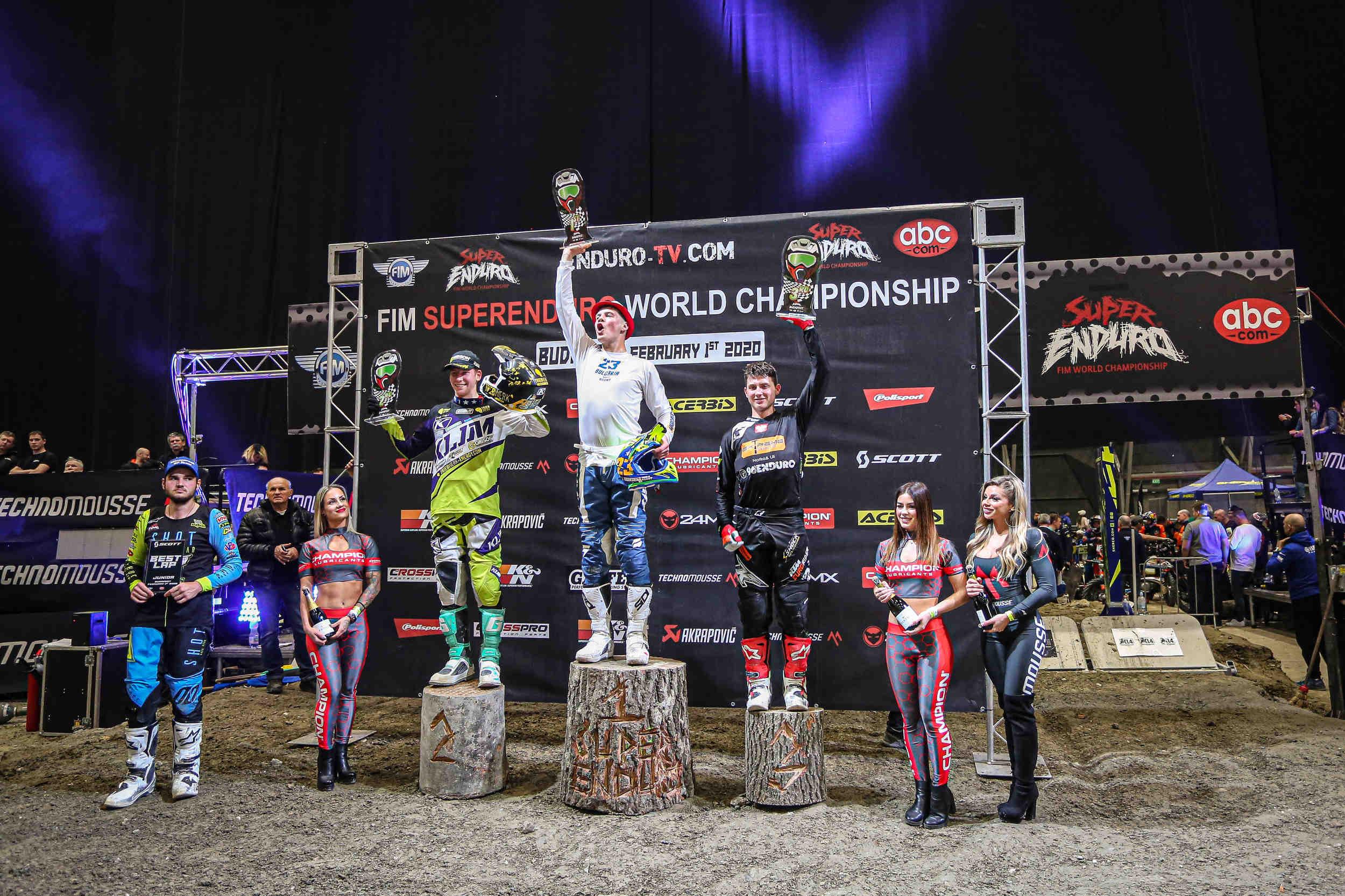 Теодор Кабакчиев с нова победа в Световното супер ендуро