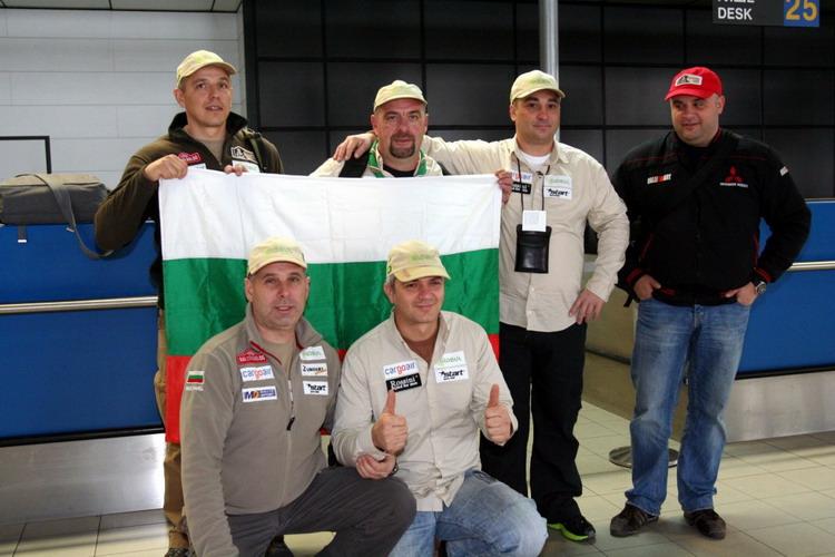 """Ценков и Вачков отлетяха за рали """"Дакар"""""""