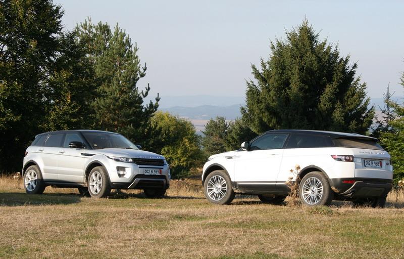 Range Rover Evoque е Автомобил на годината 4х4