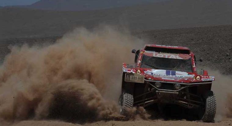 """Рали """"Дакар"""" 2012: избрани снимки от етап 8"""