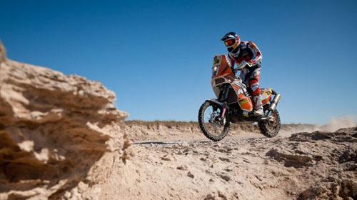 """Рали """"Дакар"""" 2012: най-добрите кадри от KTM, част 1"""