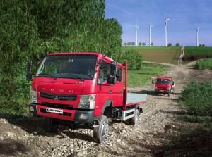 Daimler представи новия Fuso Canter 4×4