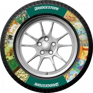 Bridgestone представи технология за принтиране върху гуми