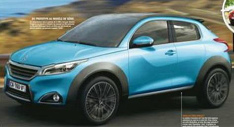Очакваме Peugeot 2008 през 2014 г.