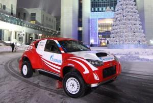 Руският спортен ё-мобил на старт за първото си рали-рейд състезание