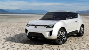 Ssangyong XIV-2 Convertible Crossover Concept дебютира официално