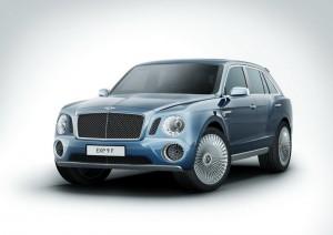 Това е Bentley SUV! (галерия и видео)