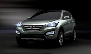 Новият Hyundai Santa Fe / ix45 2.2 CRDi ще бъде с 225 к.с.